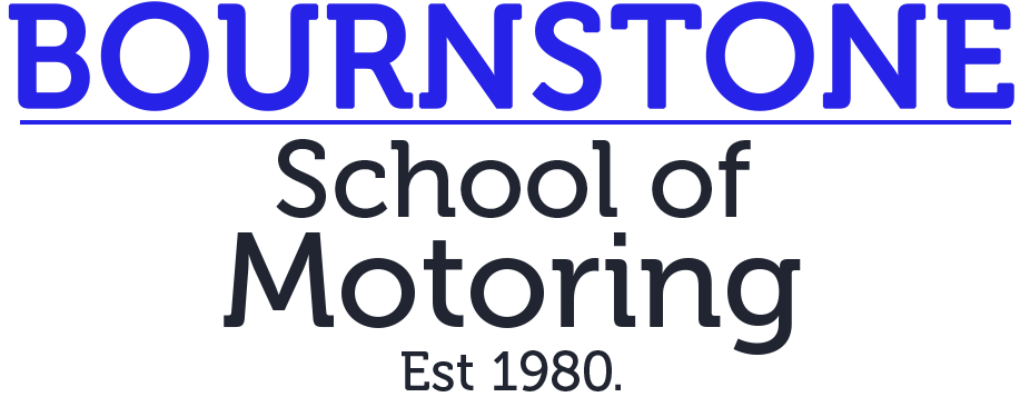 Bournstone School of Motoring Logo